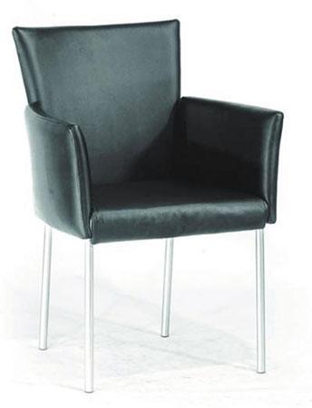 כסא אורח ''אליס'' +משענות ידיים