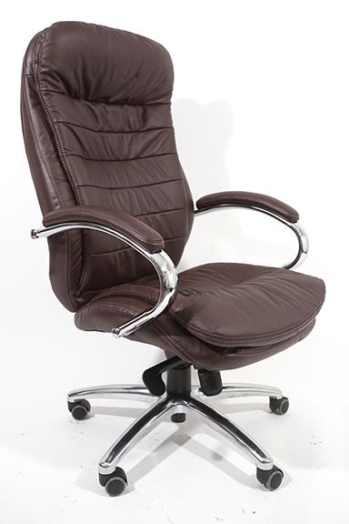 """כסא מנהלים מעור אמיתי דגם """"דניאל"""""""