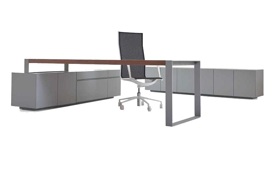 שולחן מנהל דגם טורינו רגלי מתכת