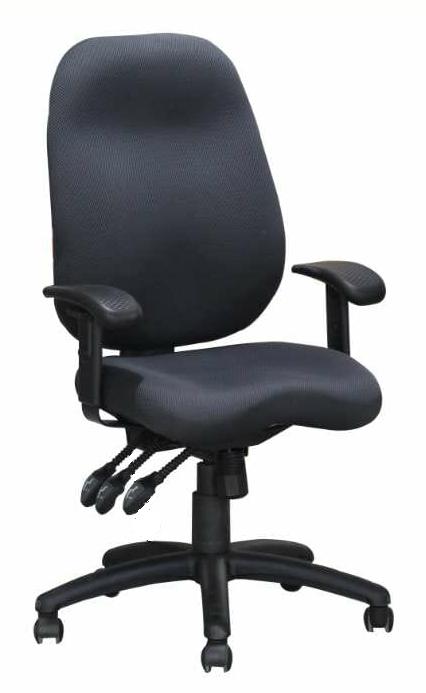 """כיסא משרדי דגם """"סיגל"""" מושב וגב אורטופדיים"""