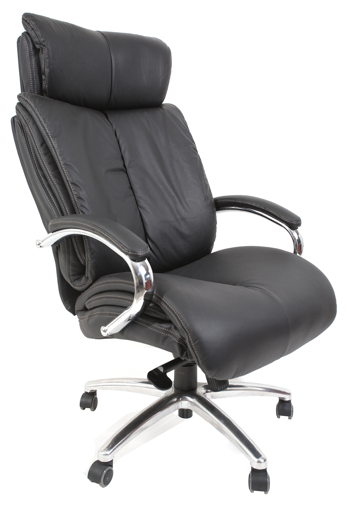 """כסא מנהלים מעור אמיתי דגם """"לואי"""""""