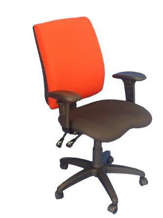 """כסא משרדי ''קוואטרו קיינד""""+ משענות ידיים"""