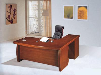 שולחן מנהל ''גל'' + שלוחה דמוי פורניר