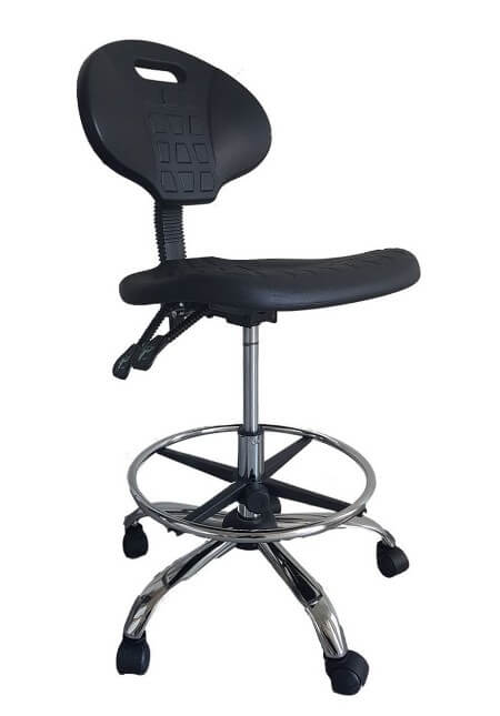 כסא מעבדה עשוי פוליאוריטן