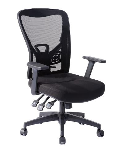 """כיסא משרדי דגם """"גלקסי"""" גב רשת"""