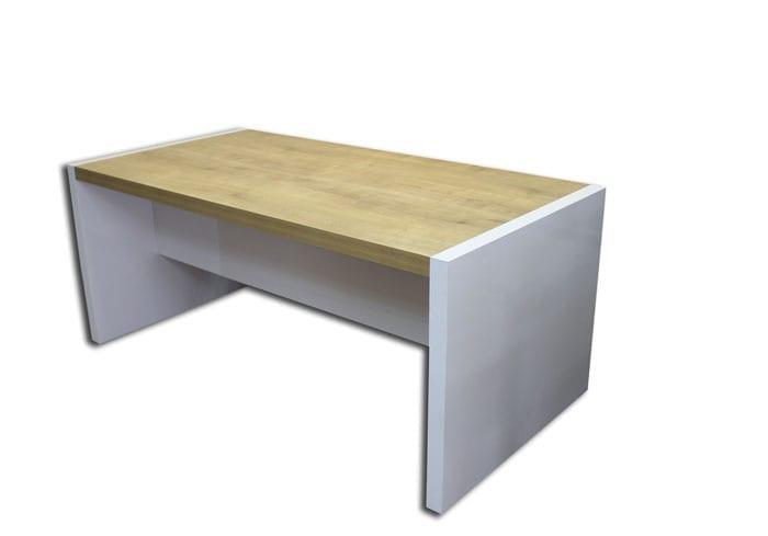 שולחן מנהל דגם נפטון עם שלוחה תמונה אחורית