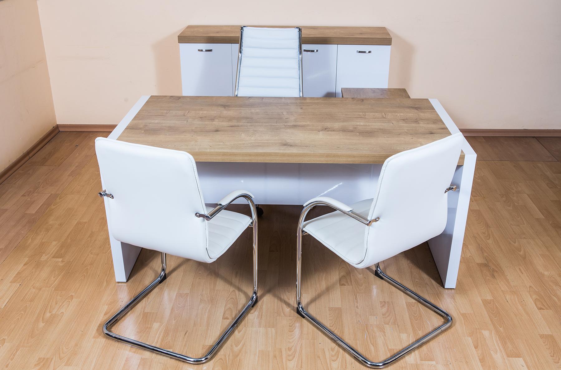 שולחן מנהל דגם נפטון עם שלוחה תמונה קידמית
