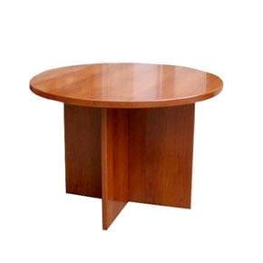 שולחן ישיבות עגול רגל ג'מבו