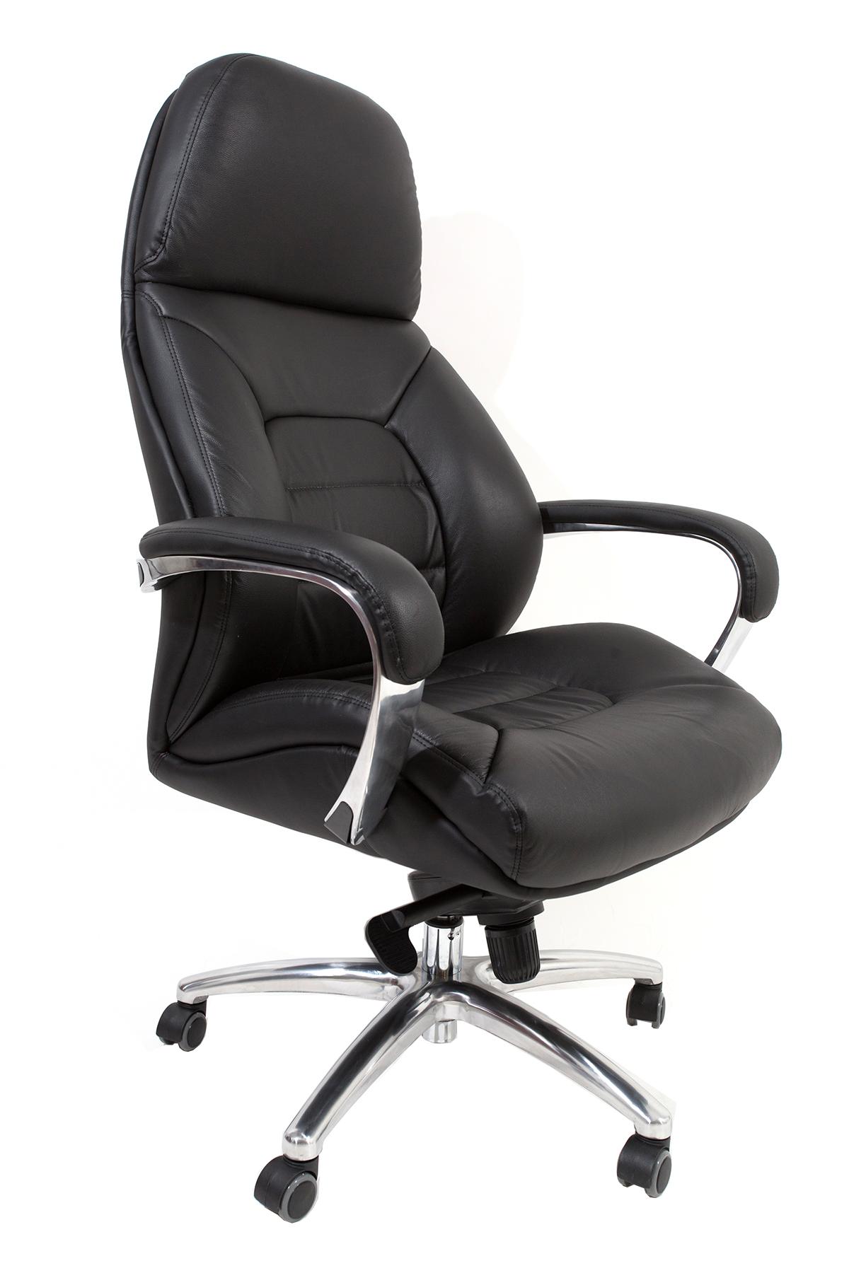 כסא מנהלים מעור אמיתי דגם SPARTA