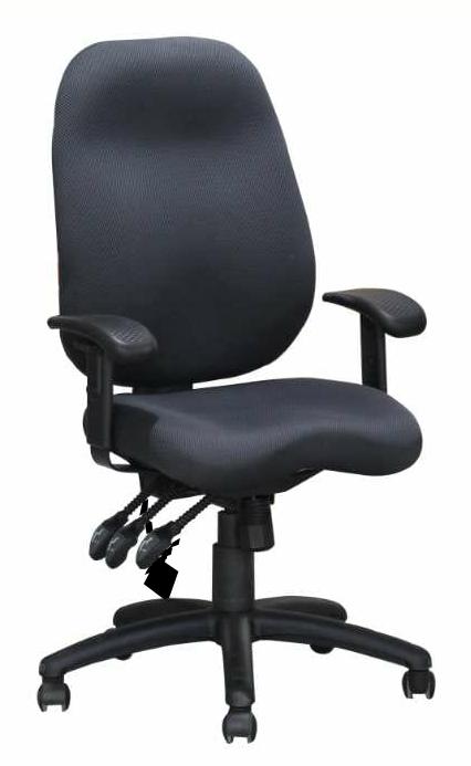 כיסא משרדי אורטופדי דגם סיגל