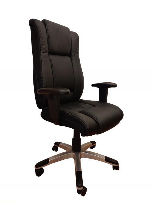 כסא אורטופדי דגם אוגדן דמוי עור