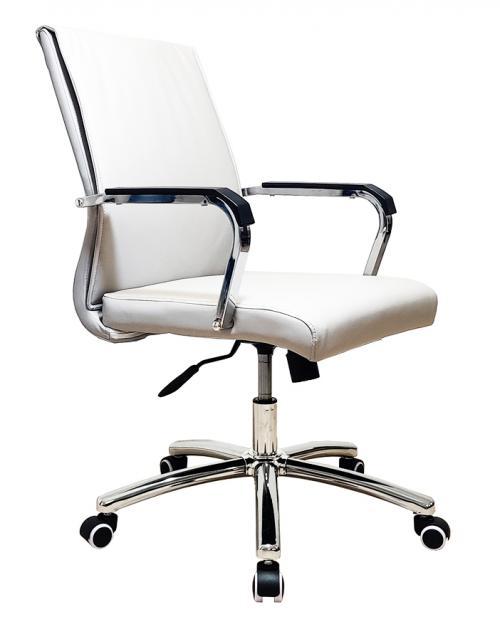 כסא לחדר ישיבות דגם BRUNO לבן